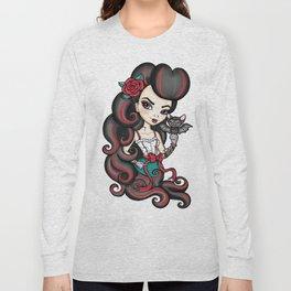 The Bat Mistress Long Sleeve T-shirt