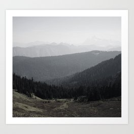 Mt Baker Wilderness Art Print