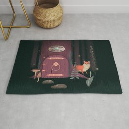Sorcerer Of Woodland Charms Potions Spells And Fortunes Rug