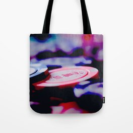 Casino Chips Tote Bag