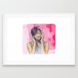 90's Framed Art Print