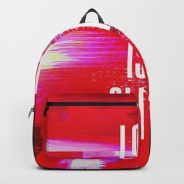 Love Is A Glitch Backpack