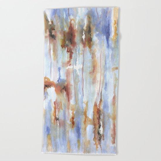 Дыхание осени Beach Towel