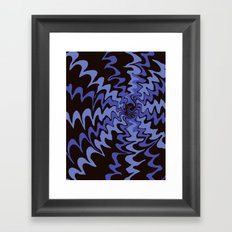 oil doesn't mix with water Framed Art Print