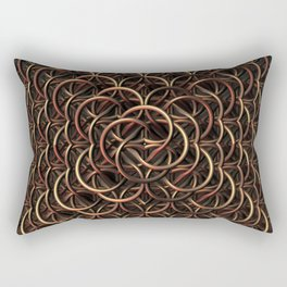Chain Mail Rectangular Pillow