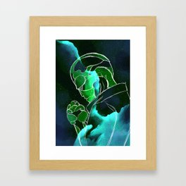 Galaxy Series: Thane Krios Framed Art Print