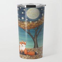 cuddly foxes Travel Mug