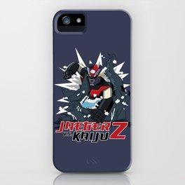 Z vs. Kaiju! iPhone Case