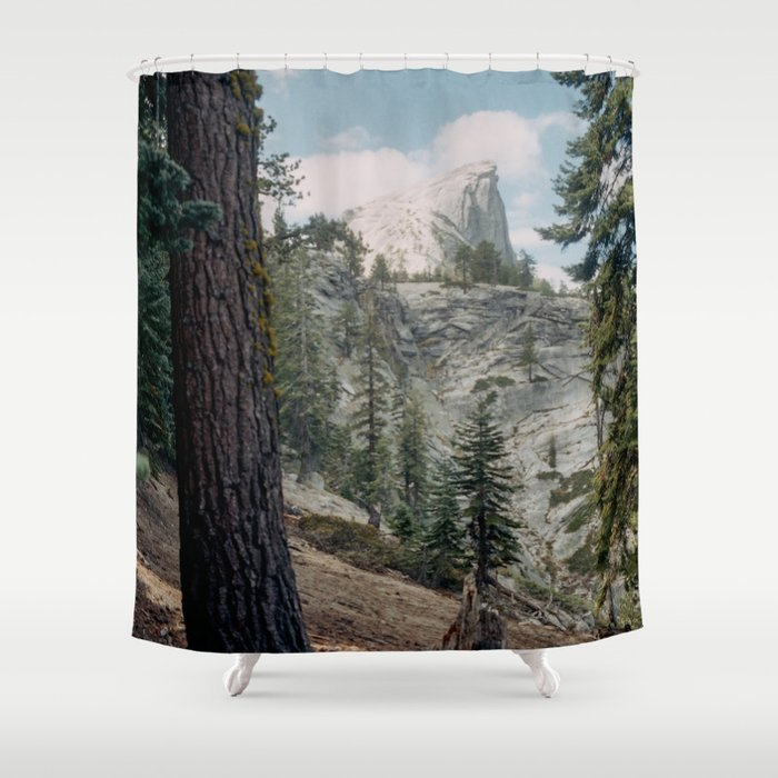 half dome shower curtain by kevinruss society6. Black Bedroom Furniture Sets. Home Design Ideas