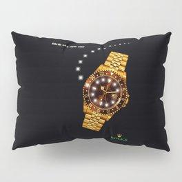 gold watch Pillow Sham