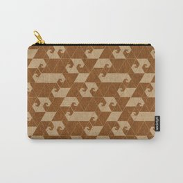 Fractal Wave C Carry-All Pouch