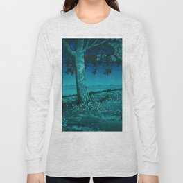 Nightime in Gissei Long Sleeve T-shirt