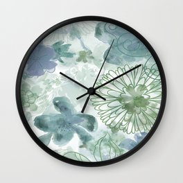 Bouquet of Dreams -- muted Wall Clock