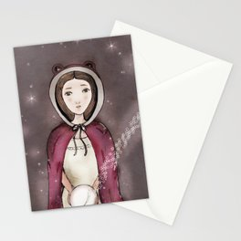 Girl & The Orb Stationery Cards