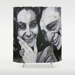 Elizabeth Taylor and Richard Burton Shower Curtain
