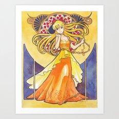 Princess Venus Art Print