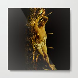 Massacre of saint Sebastien Metal Print