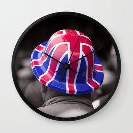 A Patriotic Boy Wall Clock