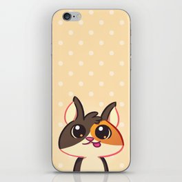 Curious Kitty Cat iPhone Skin