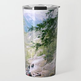 Hiking in Chamonix Travel Mug