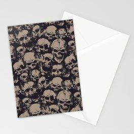 Skulls Seamless Stationery Cards