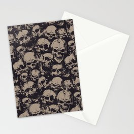 Skulls Seamless Stationery Cards