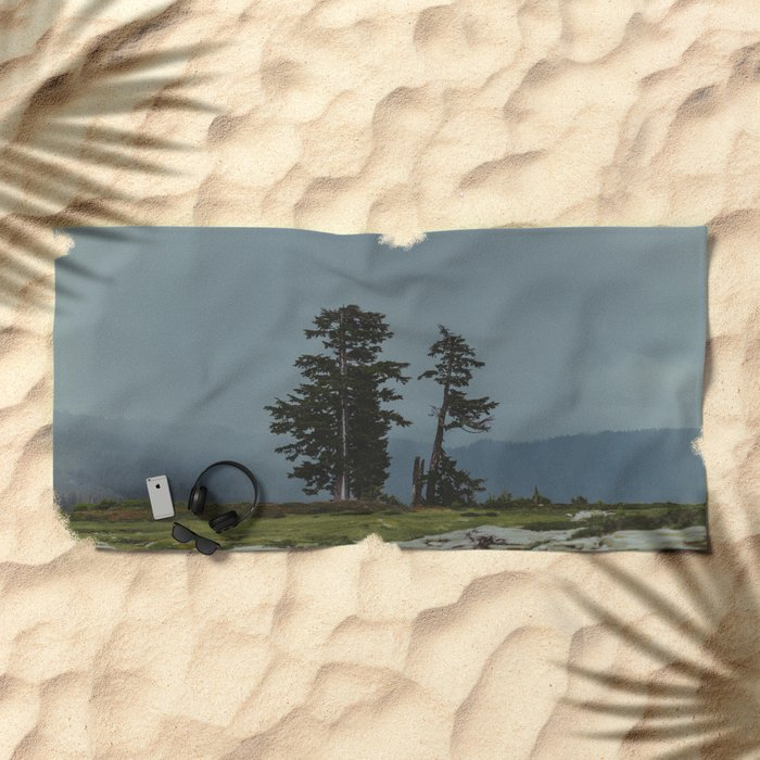 Magic Northwest Forest Beach Towel