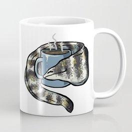 Snowflake Eel Loves Coffee Coffee Mug