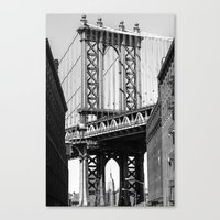 dumbo Canvas Prints featuring Dumbo by North Sky Photography