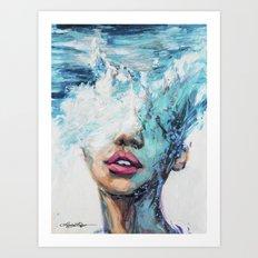 MerMind Art Print