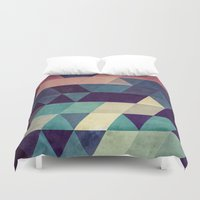 hug Duvet Covers featuring cryyp by Spires