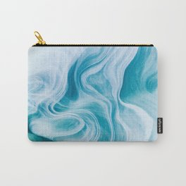 Marble sandstone - oceanic Carry-All Pouch