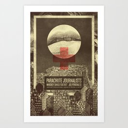 Parachute Journalists - Temptation Art Print