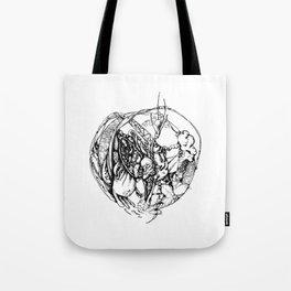 Heart of Chaos Tote Bag