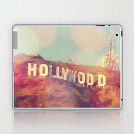 Hollywood Sign, Los Angeles, California - Photograph Laptop & iPad Skin