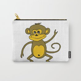 Little Monkey - Year of the Monkey 2016 : Chinese Zodiac Sign  Carry-All Pouch