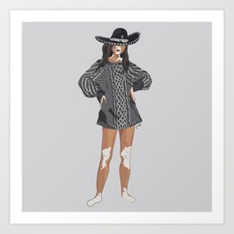 KINSHIP+CHARRO Art Print