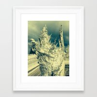 thailand Framed Art Prints featuring Thailand by very giorgious