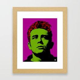 JamesDean01-3 Framed Art Print