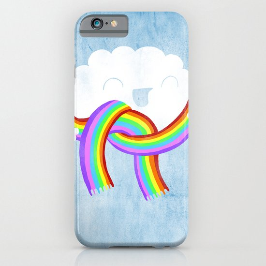 Mr clouds new scarf iPhone & iPod Case