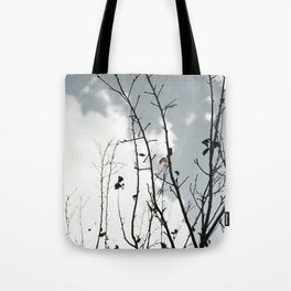 The Last To Fall Tote Bag
