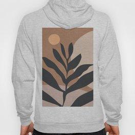 Tropical Leaf- Abstract Art 2 Hoody