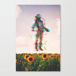 The Plain Traveller Canvas Print