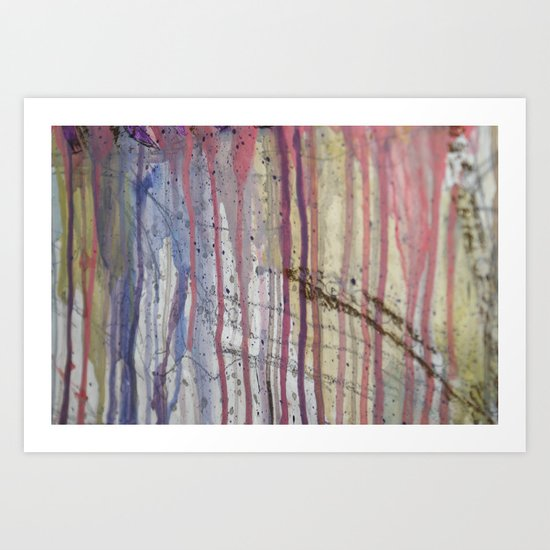 Dripping 2 Art Print