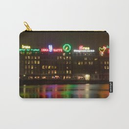 Copenhagen reflections at night Carry-All Pouch