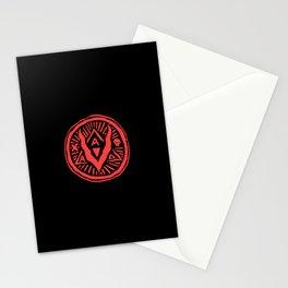 A Villain A Day Logo Stamp Stationery Cards