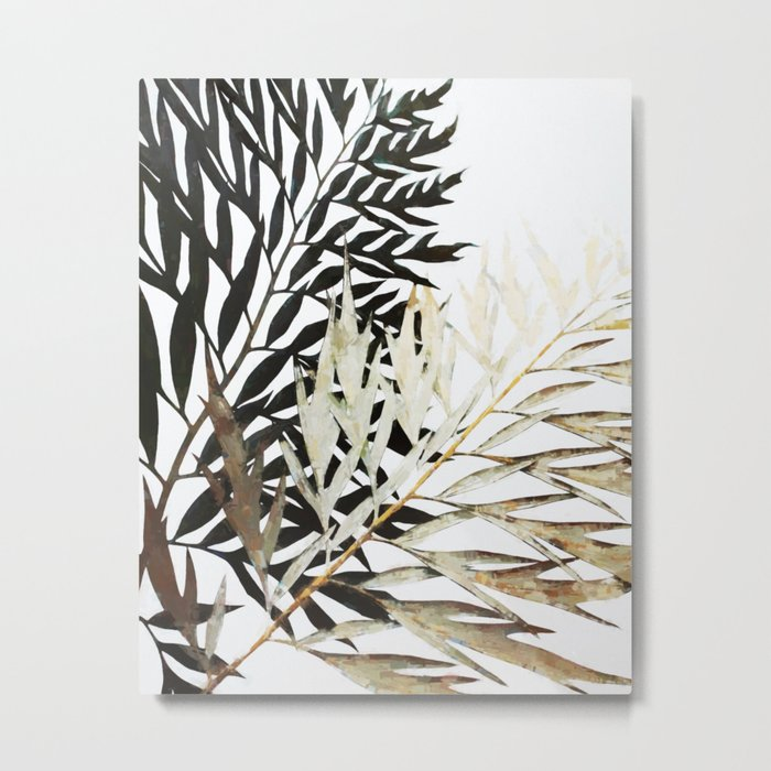 Three-Way Contrast #society6 #decor #buyart Metal Print