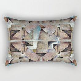 Granny Smith Geometric Rectangular Pillow
