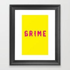 Grime Framed Art Print