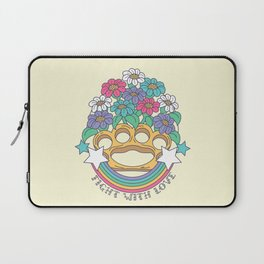 Fight with Love Laptop Sleeve